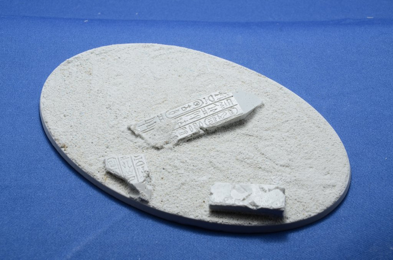 Elriks Egyptian Ruins Round Bases - 170x105mm - Oval - 1 Pack
