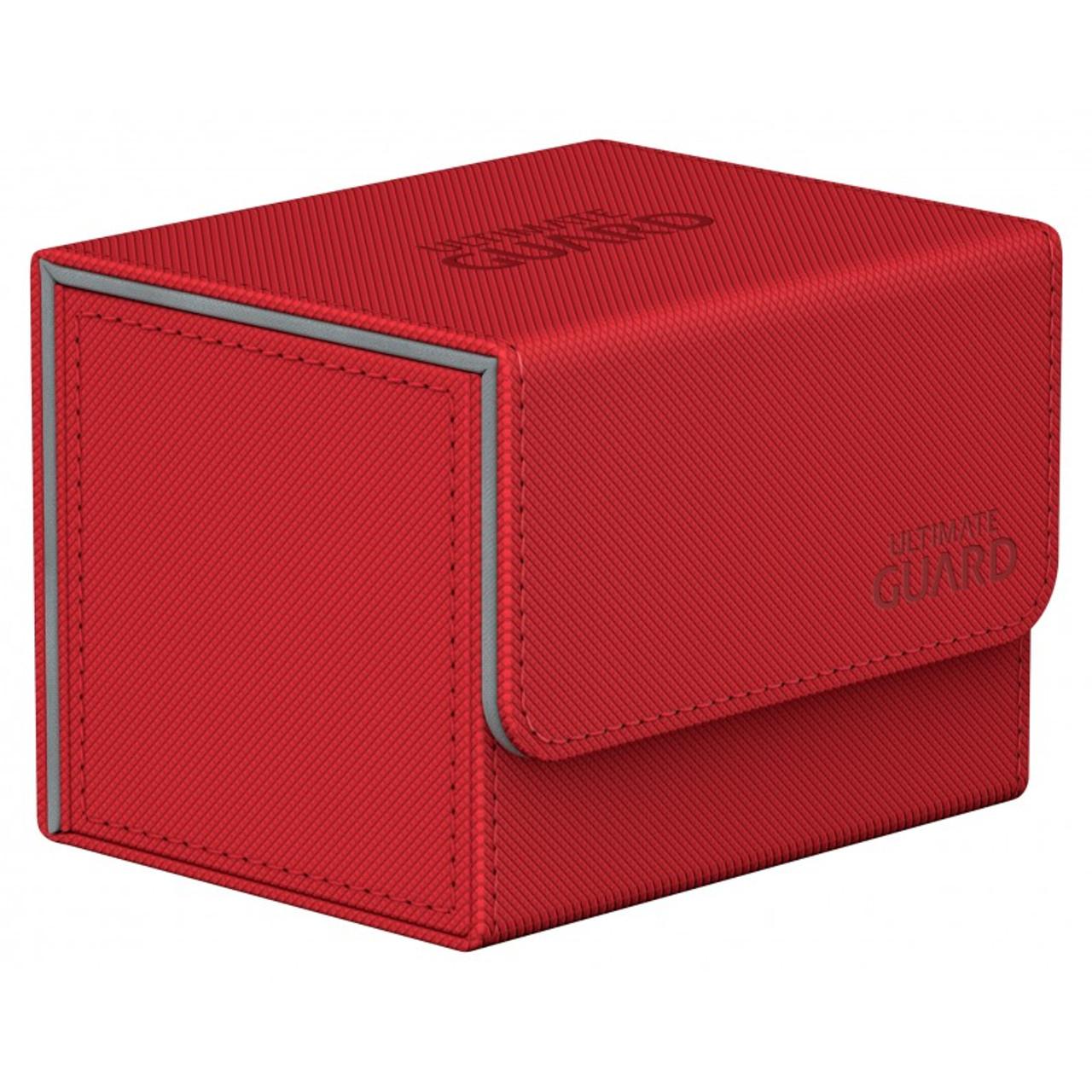 Ultimate Guard - Deck Box - Sidewinder XenoSkin Red - 100+