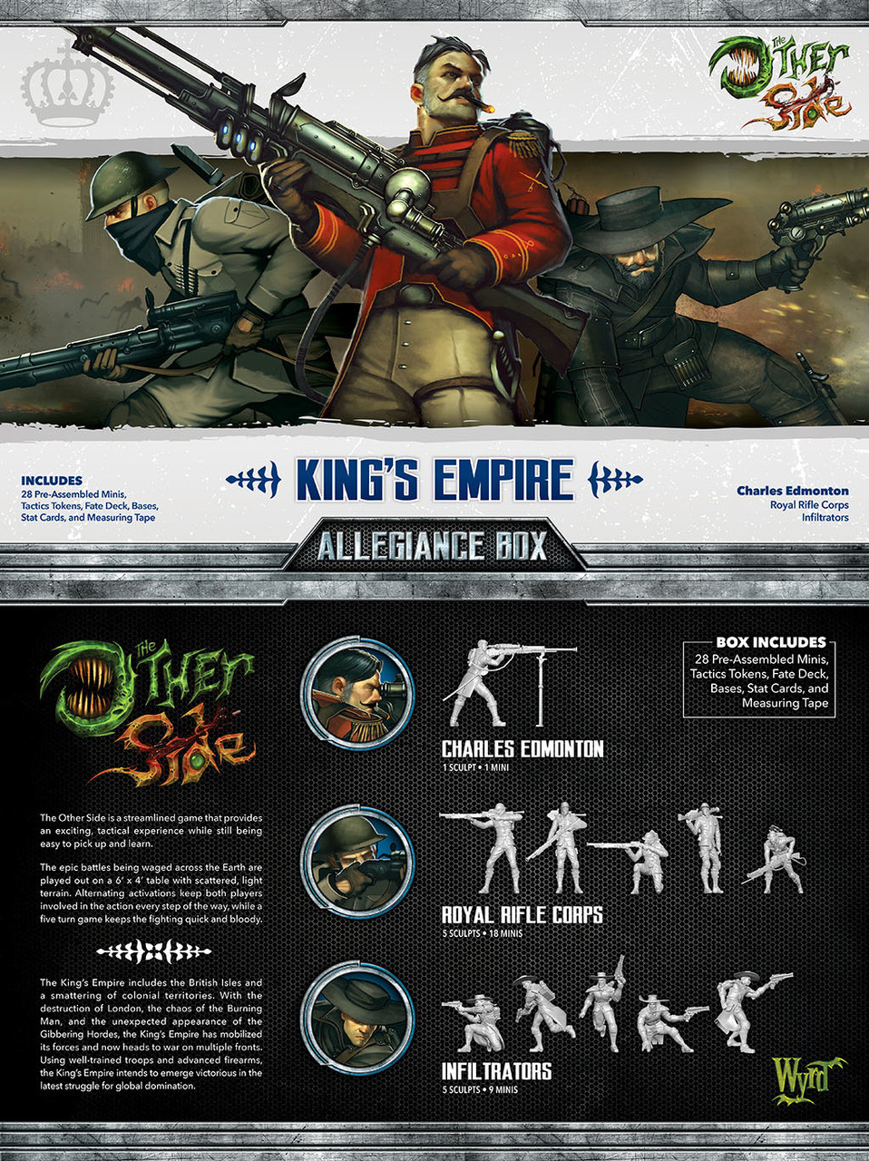 The Other Side - King's Empire Allegiance Box - Charles Edmonton