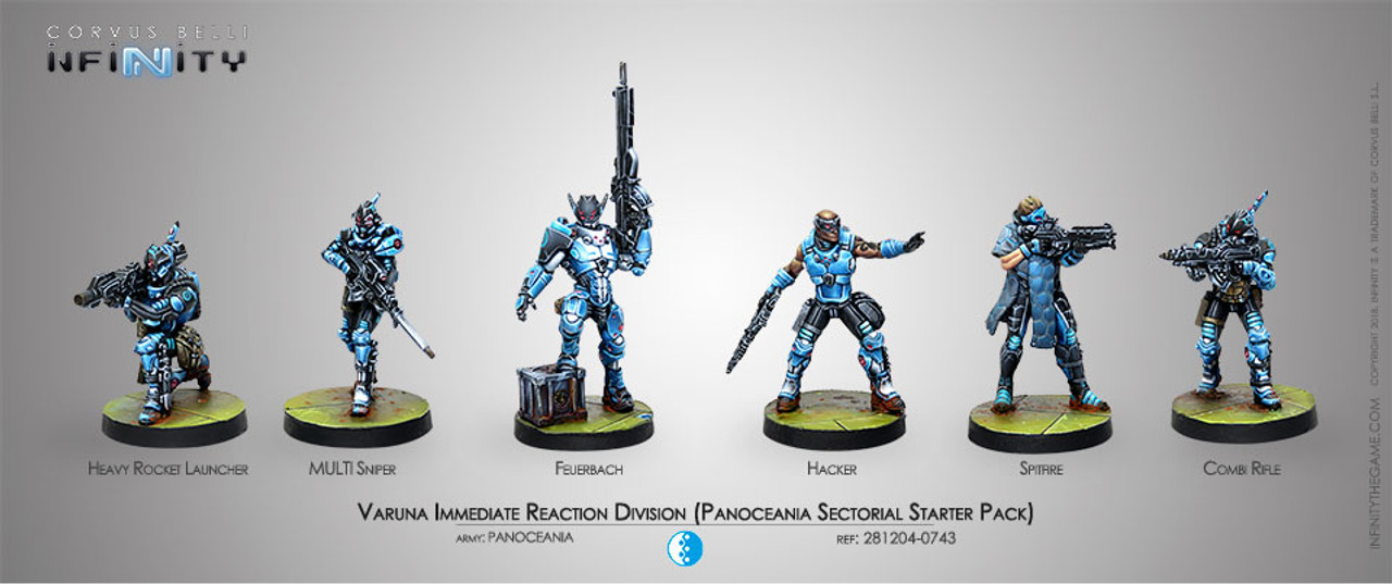 Infinity Varuna Immediate Reaction Division Starter Pack - PanOceania
