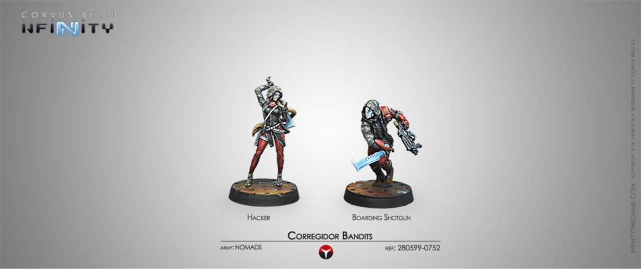 Infinity Corregidor Bandits (Hacker & Boarding Shotgun) - Nomads