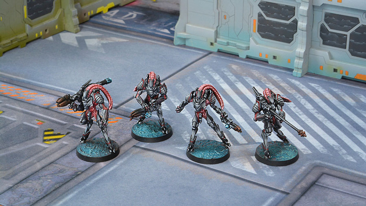 Infinity Unidron Batroids - Combined Army