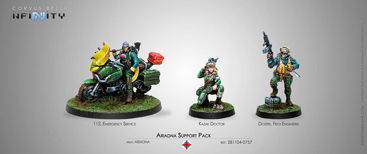 Infinity Ariadna Support Pack - Ariadna