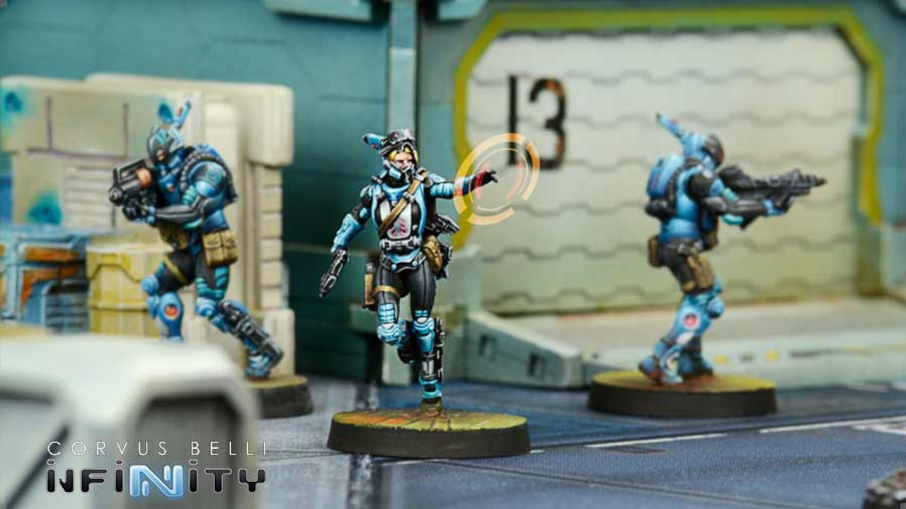 Infinity Kamau Amphibian Intervention Teams (Hackers) - Panoceania