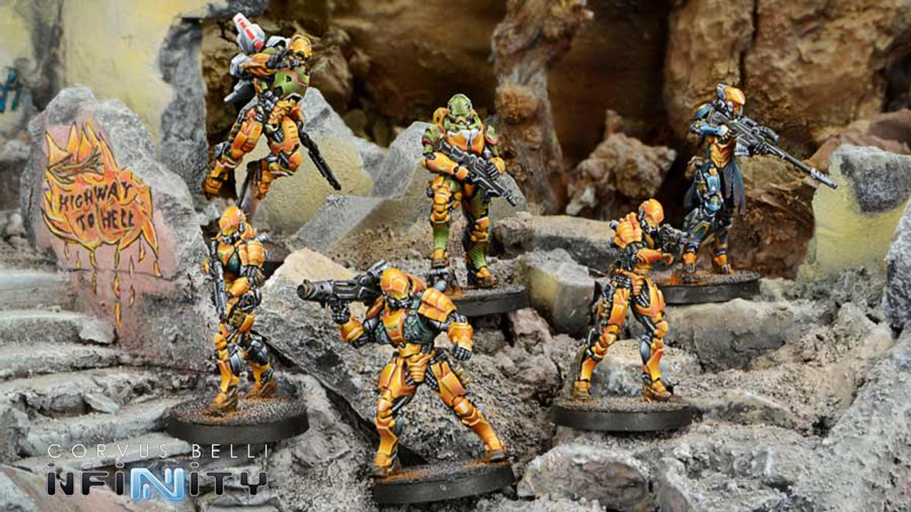 Infinity Invincible Army Sectorial Starter Pack - Yu Jing