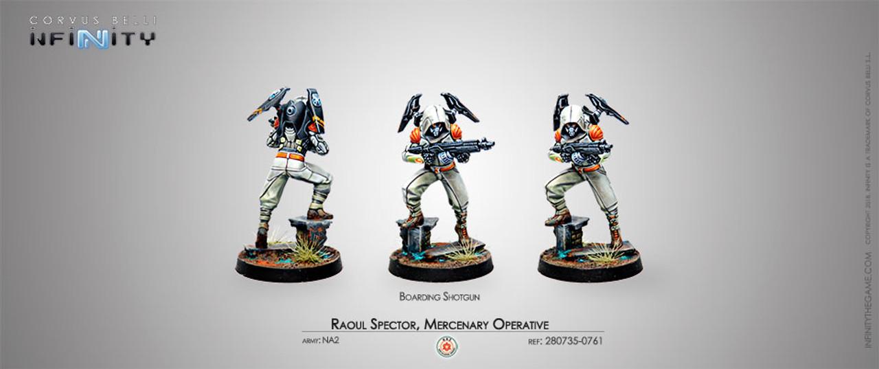 Infinity Raoul Spector, Mercenary Operative - NA2