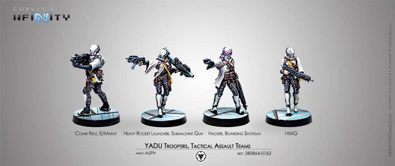 Infinity Yadu Troops - ALEPH