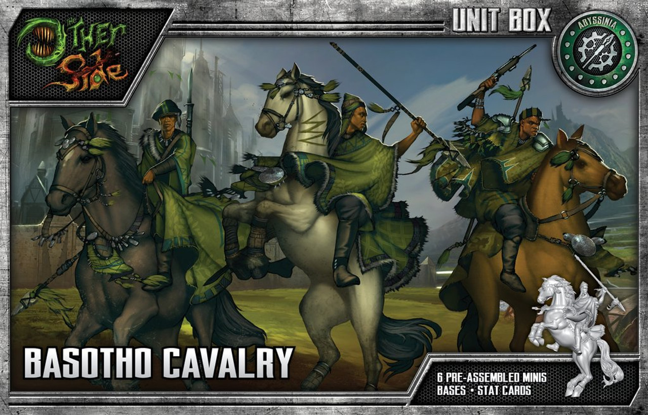 The Other Side - Abyssinia - Basotho Cavalry