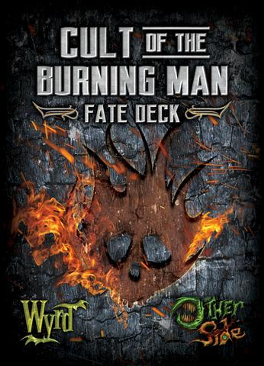 The Other Side - Cult of the Burning Man - Fate Deck (Plastic)