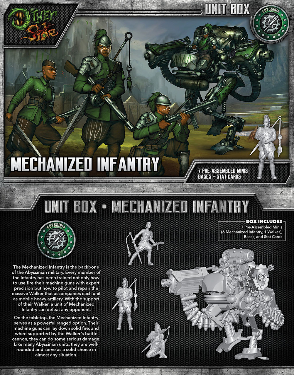The Other Side - Abyssinia - Mechanized Infantry