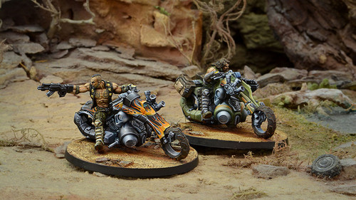 Infinity Kum Motorized Troops - Haqqislam