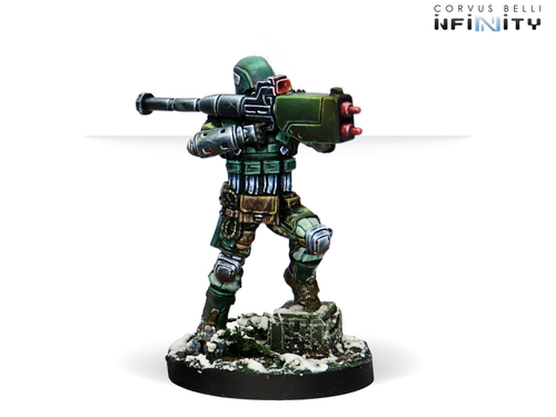 Infinity Frontoviks, Assault Separated Bat - Ariadna