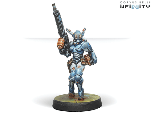 Infinity Orc Troop Pack - HMG/Boarding Shotgut RP/AF - PanOceania