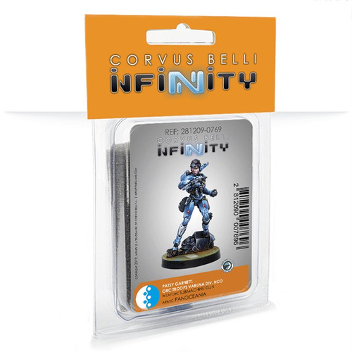 Infinity Patsy Garnett, Orc Troops Varuna Div NCO - PanOceania
