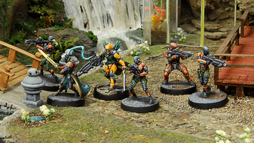 Infinity Imperial Service Sectorial Starter Pack - Yu Jing