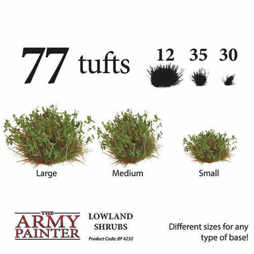Army Painter Battlefields - Lowland Shrubs
