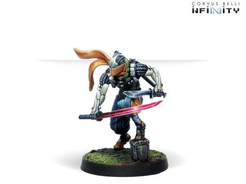 Infinity Saito Togan, Mercenary Ninja (Combi Rifle) - NA2