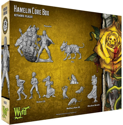 Malifaux Hamelin Core Box - Outcasts - M3E
