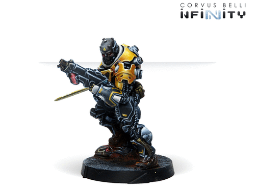 Infinity Hulang Shocktroopers (Combi Rifle + Light FT) - Yu Jing