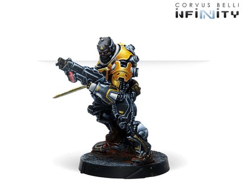 Infinity Hulang Shocktroopers (Combi Rifle + Light FT) - Yu Jing