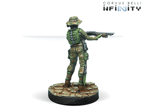 Infinity Foxtrot Rangers Boarding Shotgun - Ariadna