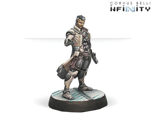 Infinity Myrmidon Doctor Officer - ALEPH
