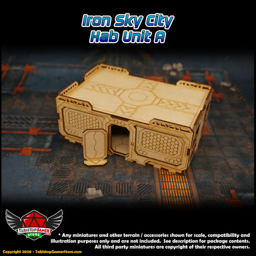 Iron Sky City Hab Unit A