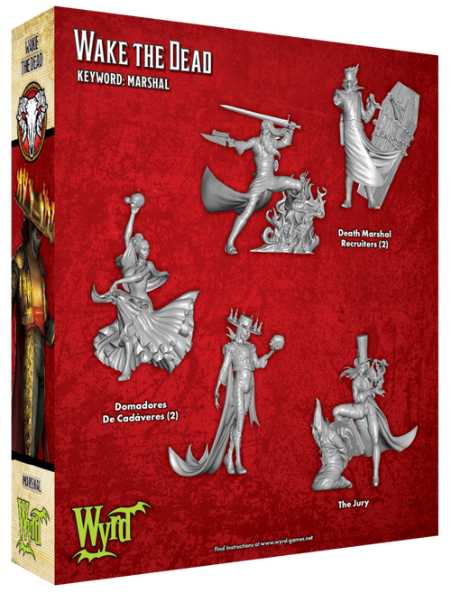 Malifaux Wake the Dead - Guild - M3E