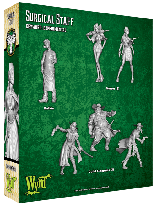 Malifaux Surgical Staff - Resurrectionists - M3E