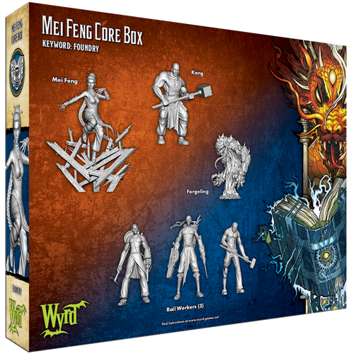 Malifaux Mei Feng Core Box - Ten Thunders / Arcanists - M3E