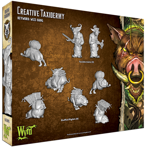 Malifaux Creative Taxidermy - Bayou - M3E Upgraded
