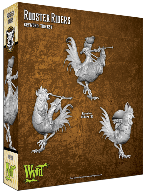 Malifaux Rooster Riders - Bayou- M3E