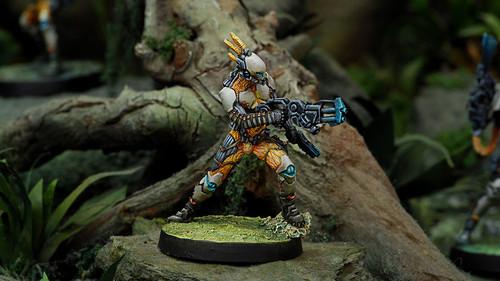 Infinity Sakiel Regiment (Spitfire) - Tohaa