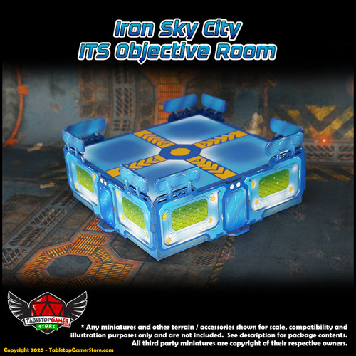 Iron Sky City ITS Objective Room