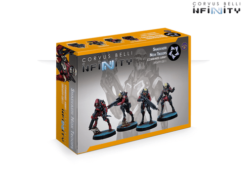 Infinity Shasvastii Nox Troops - Combined Army