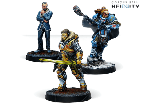 Infinity Dire Foes Mission Pack Alpha - Retaliation Convention Exclusive