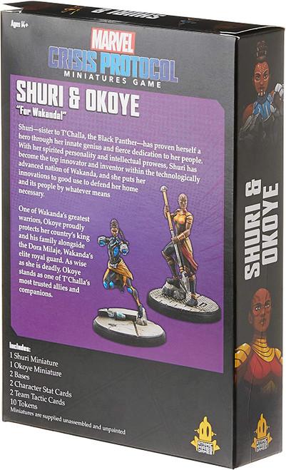 Marvel Crisis Protocol: Okoye and Shuri Character Pack