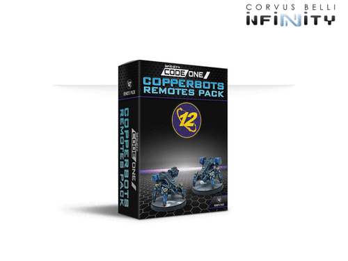 Infinity CodeOne Copperbot Remotes - O-12