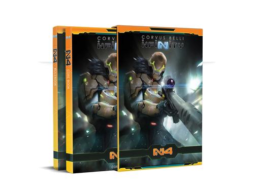 Infinity N4 Rule Book w/Oktavia Grimsdottir N4 Exclusive Mini