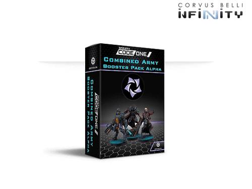 Infinity CodeOne Combined Army Booster Pack Alpha
