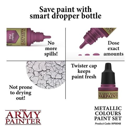 Army Painter Metallic Colours Paint Set