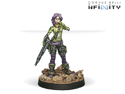 Infinity Scarface and Cordelia - Non-Aligned Armies