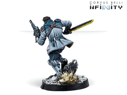 Infinity John Hawkwood, Merc Officer (K1 Marksman Rifle) - NA2