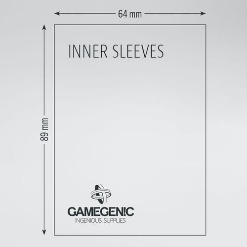 Gamegenic Inner Sleeves (100 Pack)