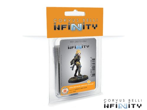 Infinity Aida Swanson, Submondo Smuggler (Submachine Gun) - NA2