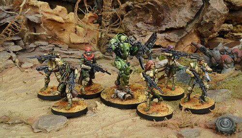 Infinity: Operation Red Veil Battle Pack