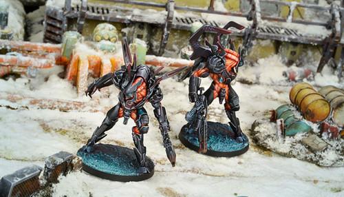 Infinity Xeodron Batroids - Combined Army