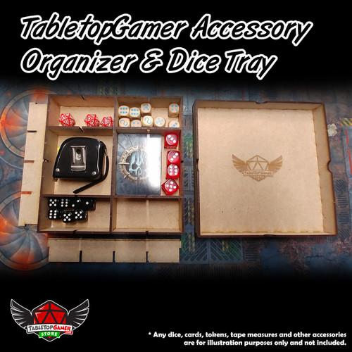 TabletopGamer Accessory Organizer & Dice Tray