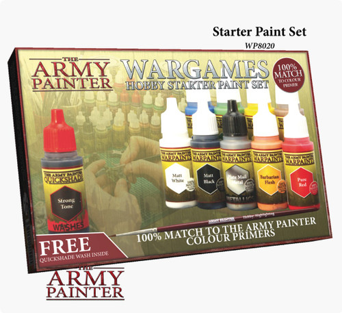 Warpaints Quickshade Washes Set The Army Painter WP8023