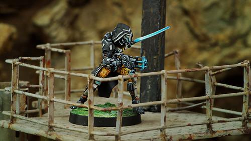 Infinity Gao-Rael Unit (Spitfire / Sniper Rifle) - Tohaa